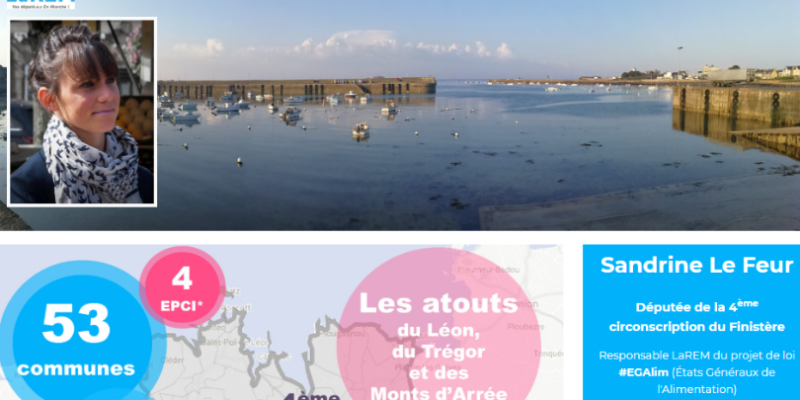 Site internet Sandrine Le Feur